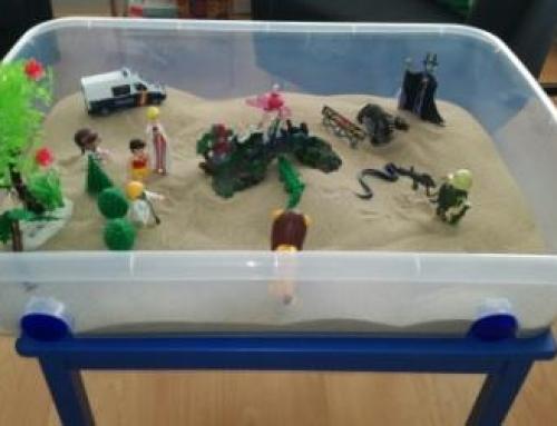 La técnica psicológica de la caja de arena